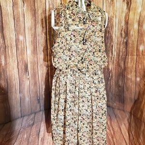 American Rag Floral Dress Sz Small